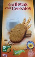 Galletas con cereales - Produit