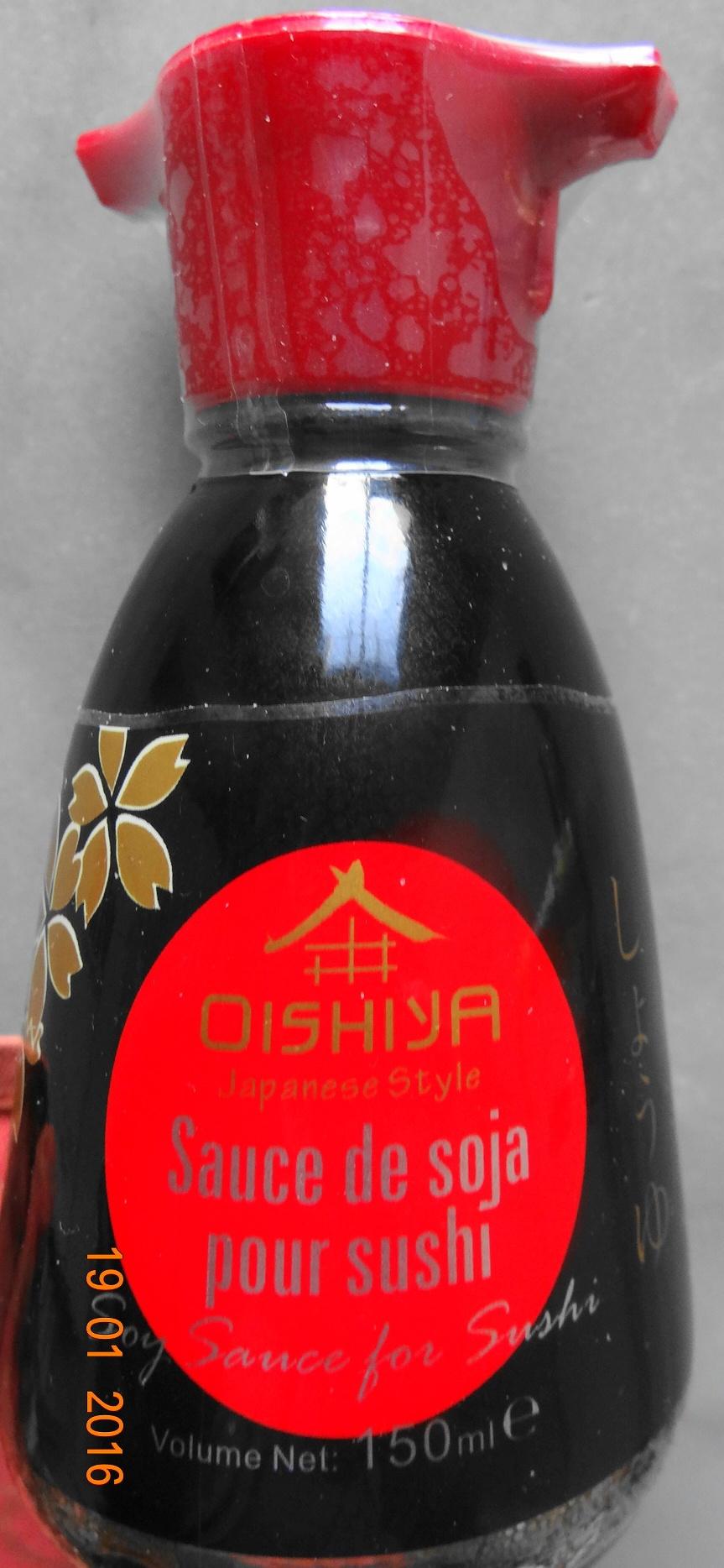 Sauce de Soja pour sushi, Oishiya - Product - fr