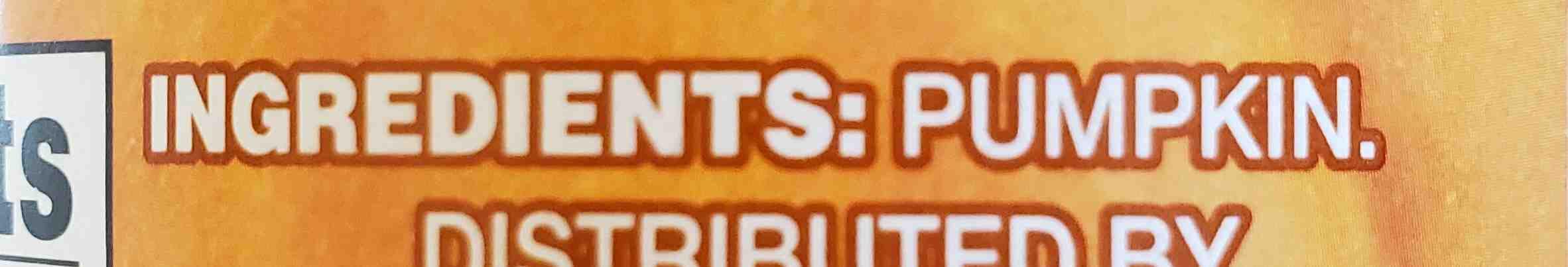 pumpkin - Ingredients