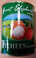 Lychees in syrup - Produit - fr