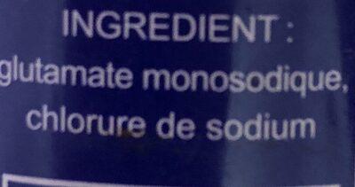 Ve Tsun - Ingrédients
