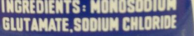 Gourmet Powder - Ingrédients - fr