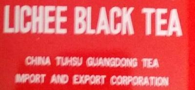 Thé noir litchi - Ingrédients