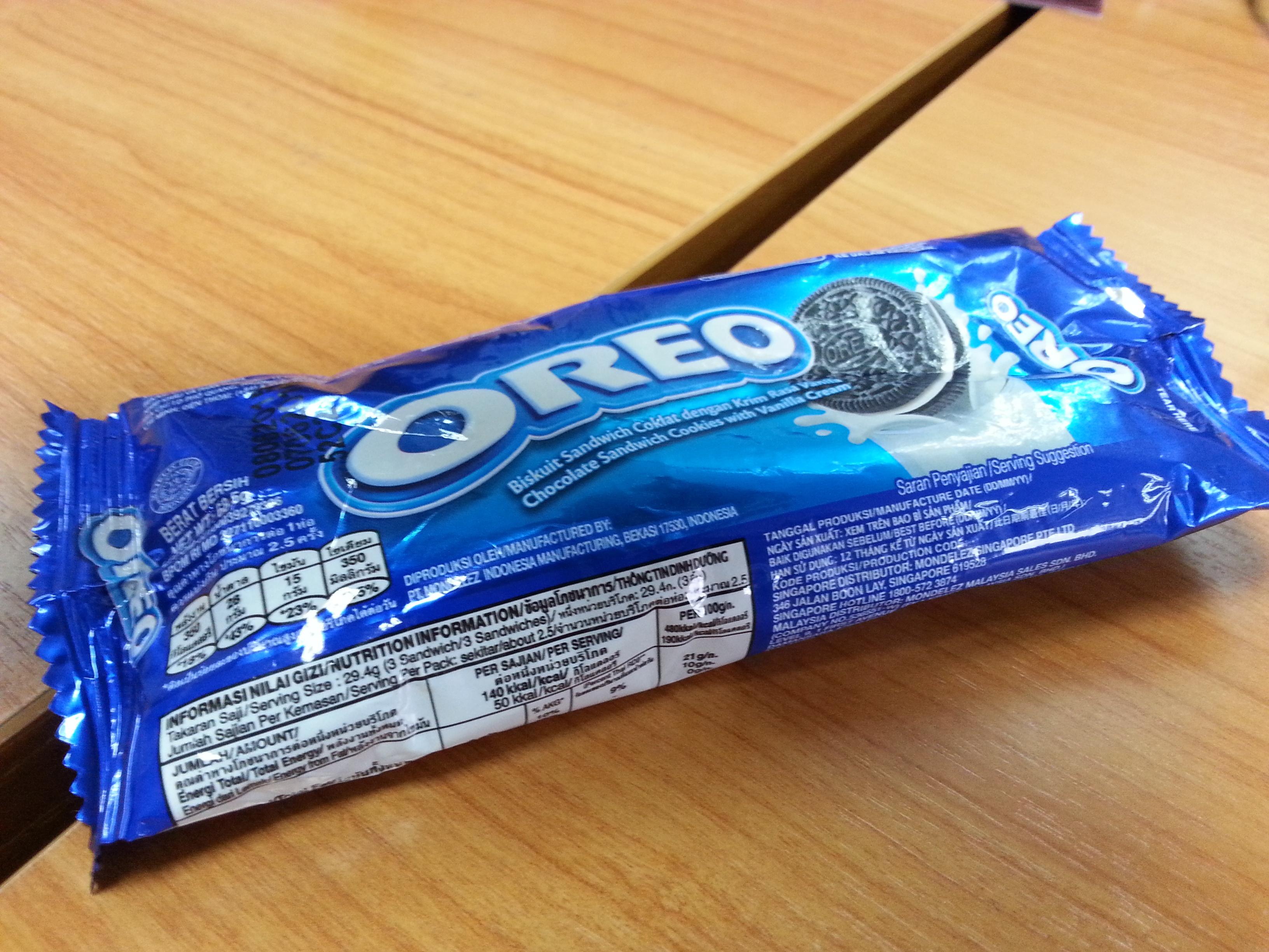 Oreo cookies - Product - en