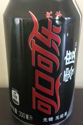 Coca Cola zero - 产品