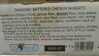 Chicken nuggets - Ingrédients - fr