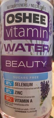 Oshee vitamin water beauty - Produit - pl