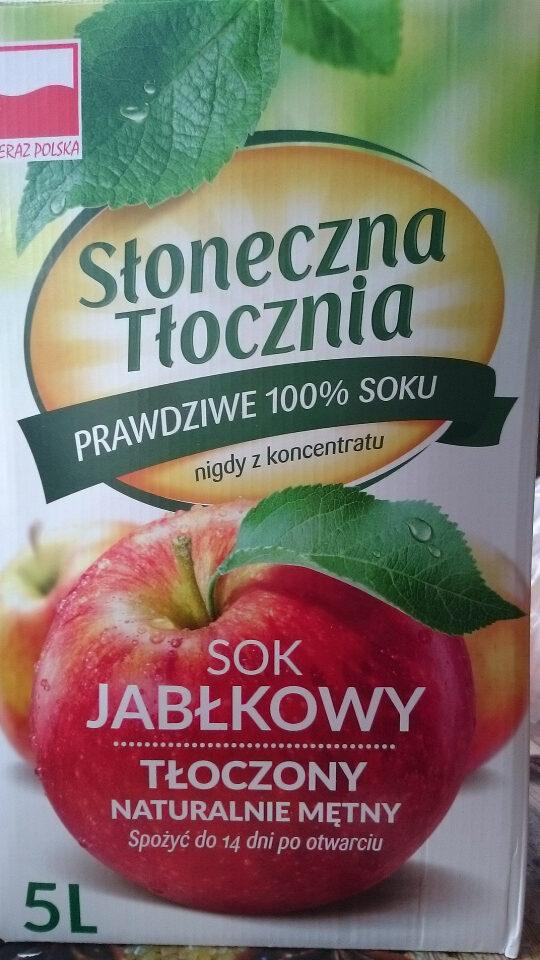 Sok jabłkowy tłoczony - Produkt - pl