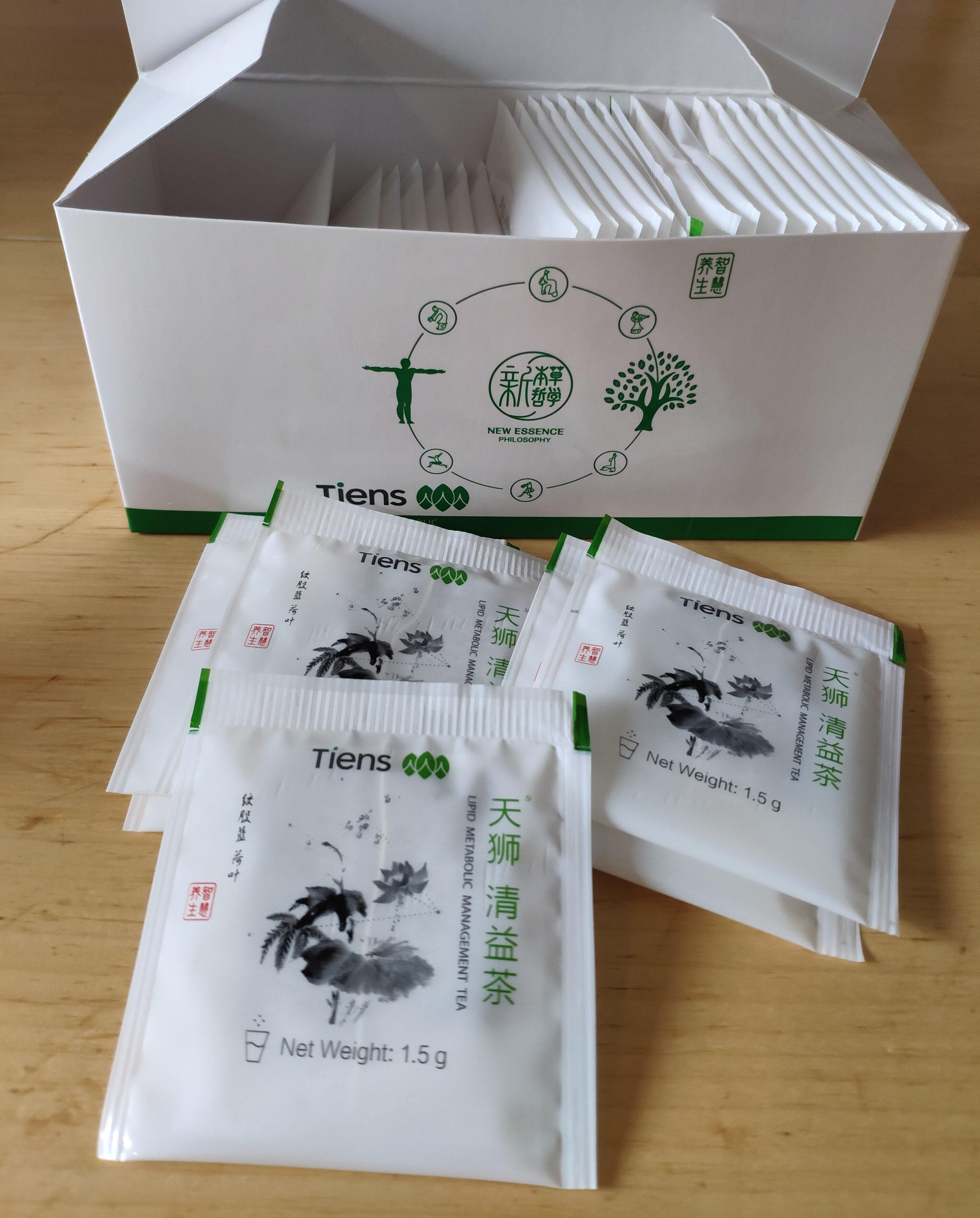 чай антилипидный / lipid metabolic management tea - 产品 - en
