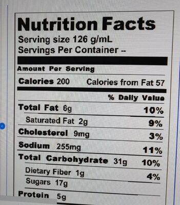 vitamin - 营养成分 - fr