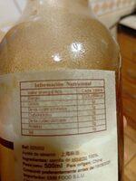 Pure sesame oil - Información nutricional