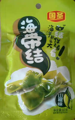 Preserved Seaweed Knot – Spicy - Product - en