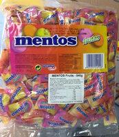 Mentos Frutas - Ingredients