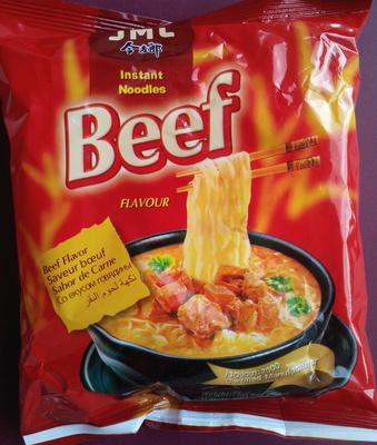 Instant Noodles Beef Flavour - Produit - fr