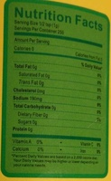 Granulated Chicken Flavour Bouillon - Informations nutritionnelles - fr