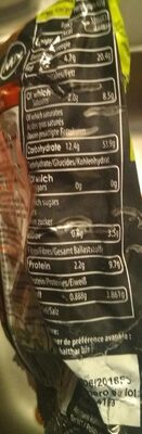 Noodle master green curry chicken - Nutrition facts - fr