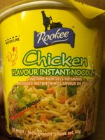Discount Rookee Cup Noodles Med Kylling - Produit - fr