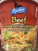 Beef Flavour Instant Noodles - Product