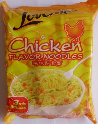Chicken Flavor Noodles - Produit