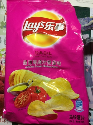 Mexican Tomato Chicken Flavor potato chips - 产品 - zh