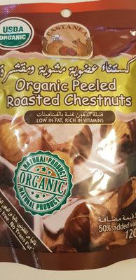 Organic Peeled Roasted Chestnuts - Product