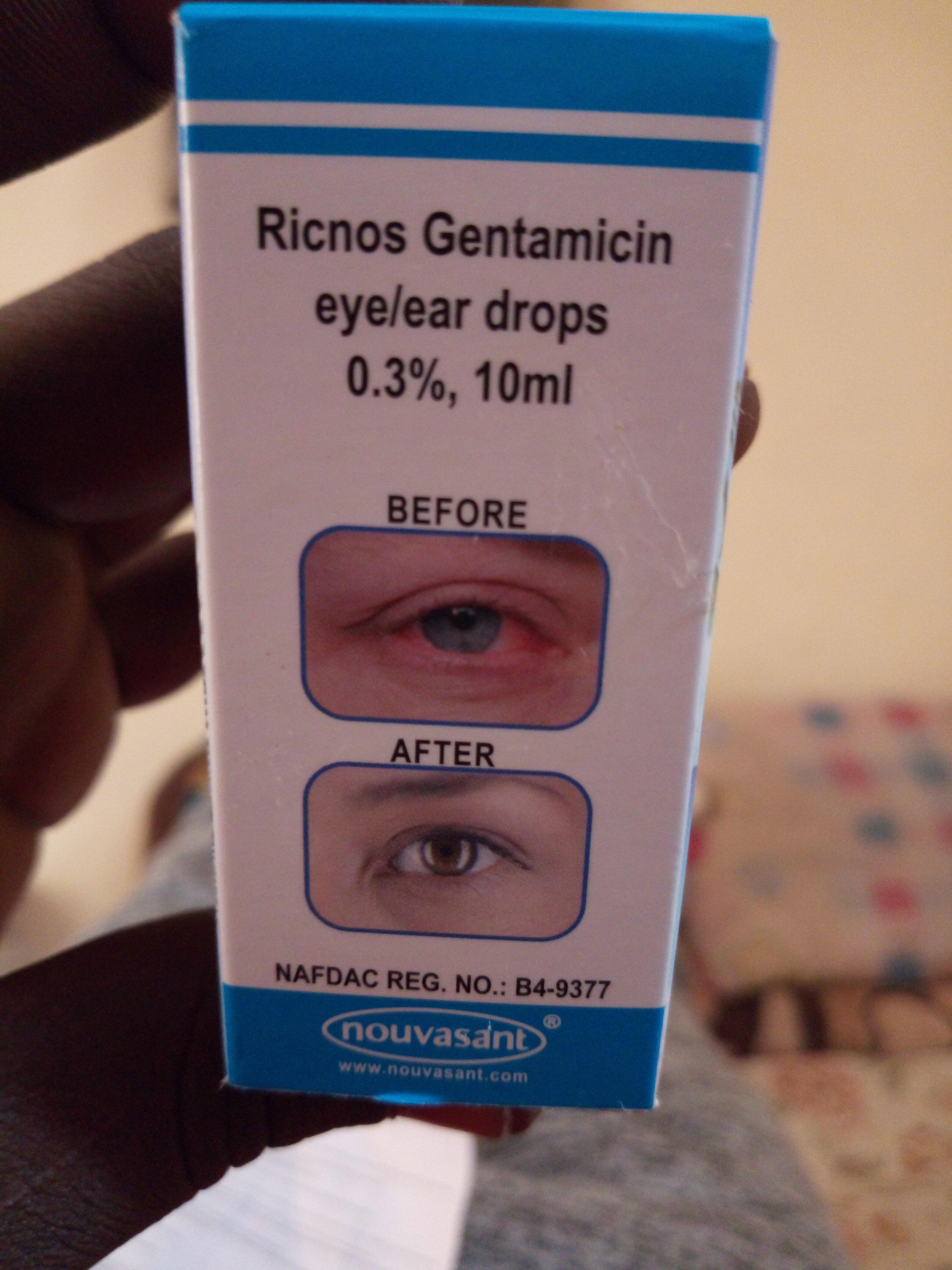 Ricnos Gentamicin - Produit - en
