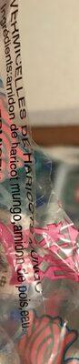 Vermicelles de Haricots Mungo - Ingrédients - fr