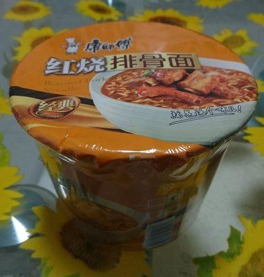 康师傅红烧排骨面 - 产品 - zh