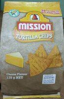 Tortilla Cheese Chips - Produit - en