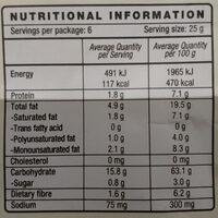 Mission Tortilla Chips - Nutrition facts - en