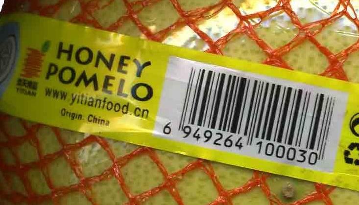 Honey pomelo - Ingredientes - es