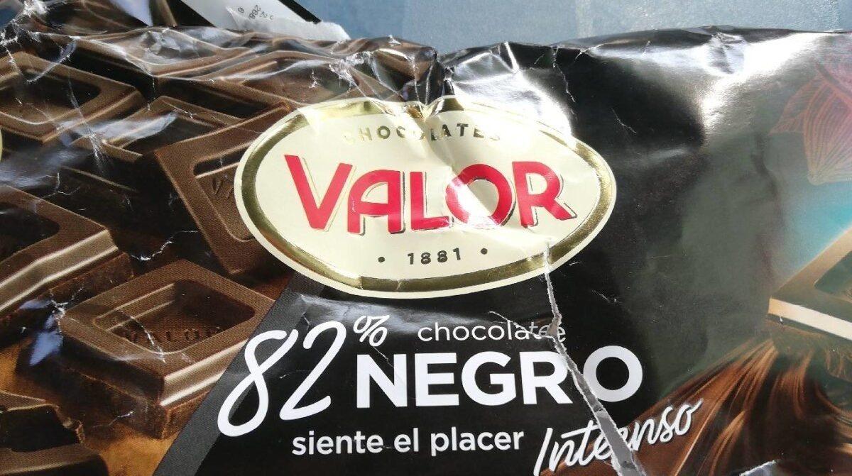 Chocolate negro 82% - Product - es