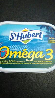 Beurre Saint Hubert Oméga 3 demi sel - Produit
