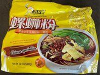 Liuzhou famous brand snail rice noodle - Product - fr