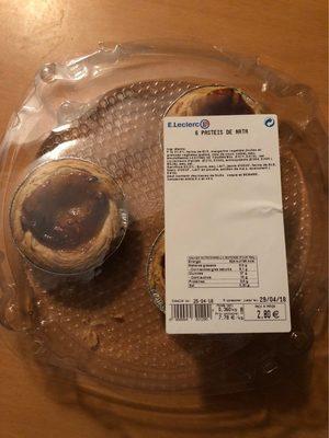 Pasteis de nata - Product