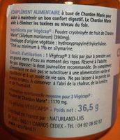 Chardon Marie 75 Végécaps - Ingrédients - fr