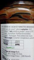 Nocciolata - Ingrediënten - fr
