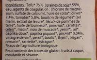 Tofu Rosso - Ingrediënten