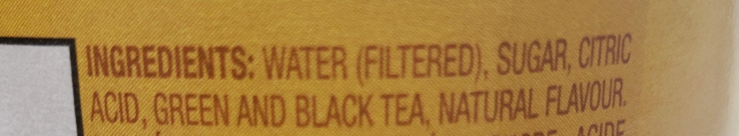 Snapple Lemon Tea - Ingrédients - en
