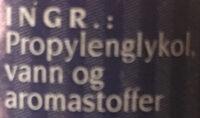 Mandelessens - Ingredienti - nb