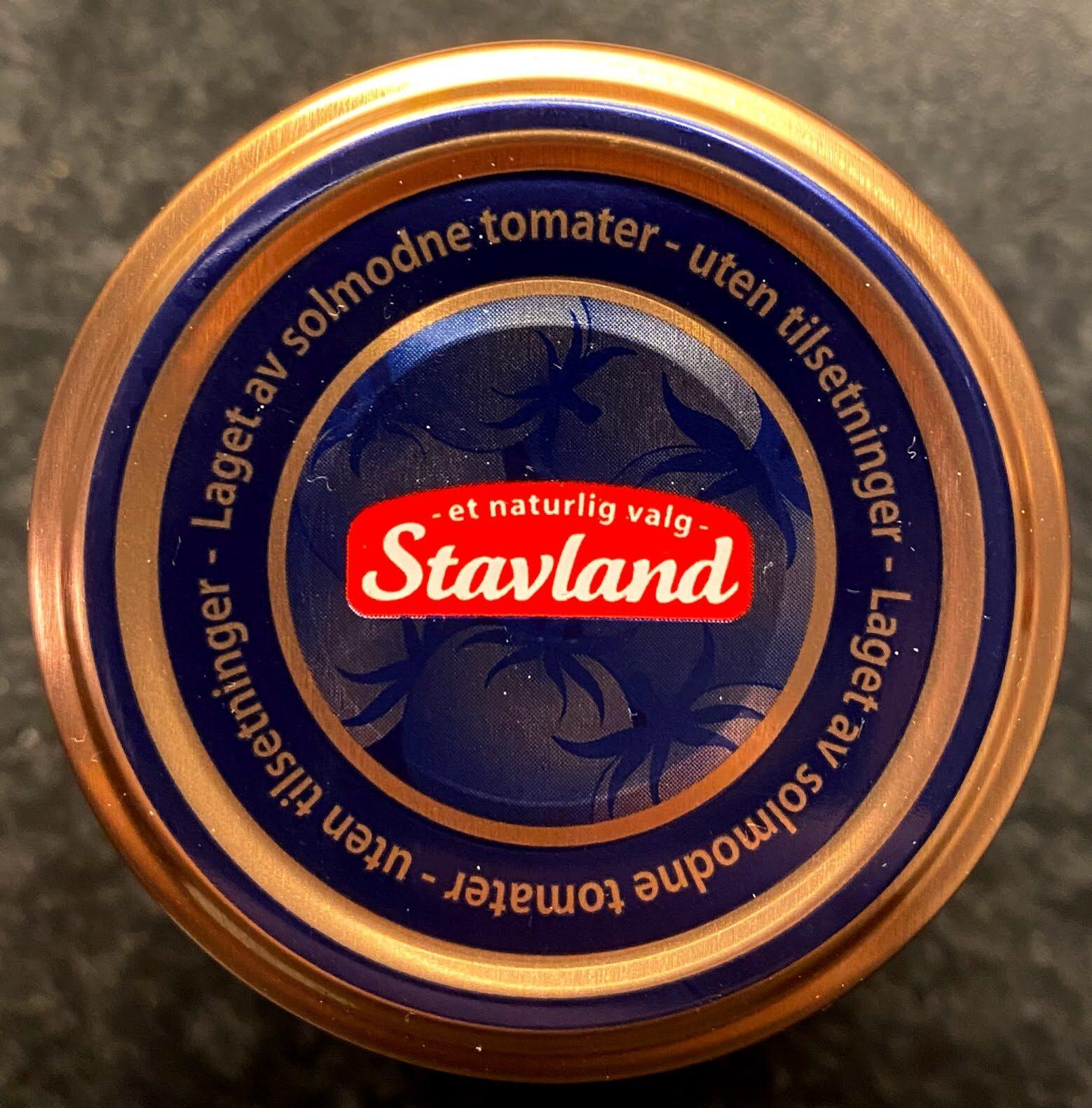 Stavland Tomatpure - Istruzioni per il riciclaggio e/o informazioni sull'imballaggio - en