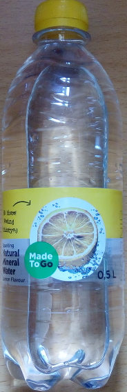 Made To Go Nornir Sparkling Natural Mineral Water Lemon Flavour - Produit - sv