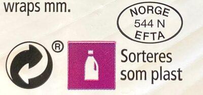 Coop Salatkjøtt - Instruction de recyclage et/ou informations d'emballage - nb