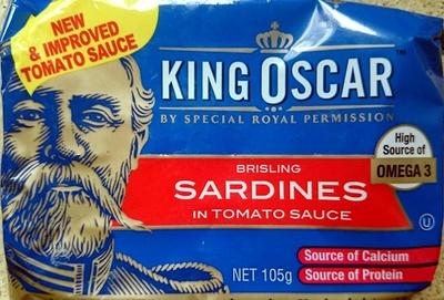 Brisling Sardines in Tomato Sauce - Product - en
