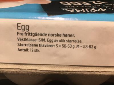 12 egg - Ingredients - nb