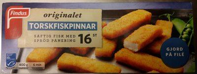 Findus Originalet 16 Torskfiskpinnar - Produit - sv