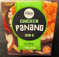 Folkets Chicken Panang - Produit - en