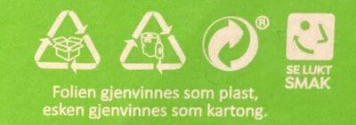 Folkets Chicken Panang - Instruction de recyclage et/ou informations d'emballage - en