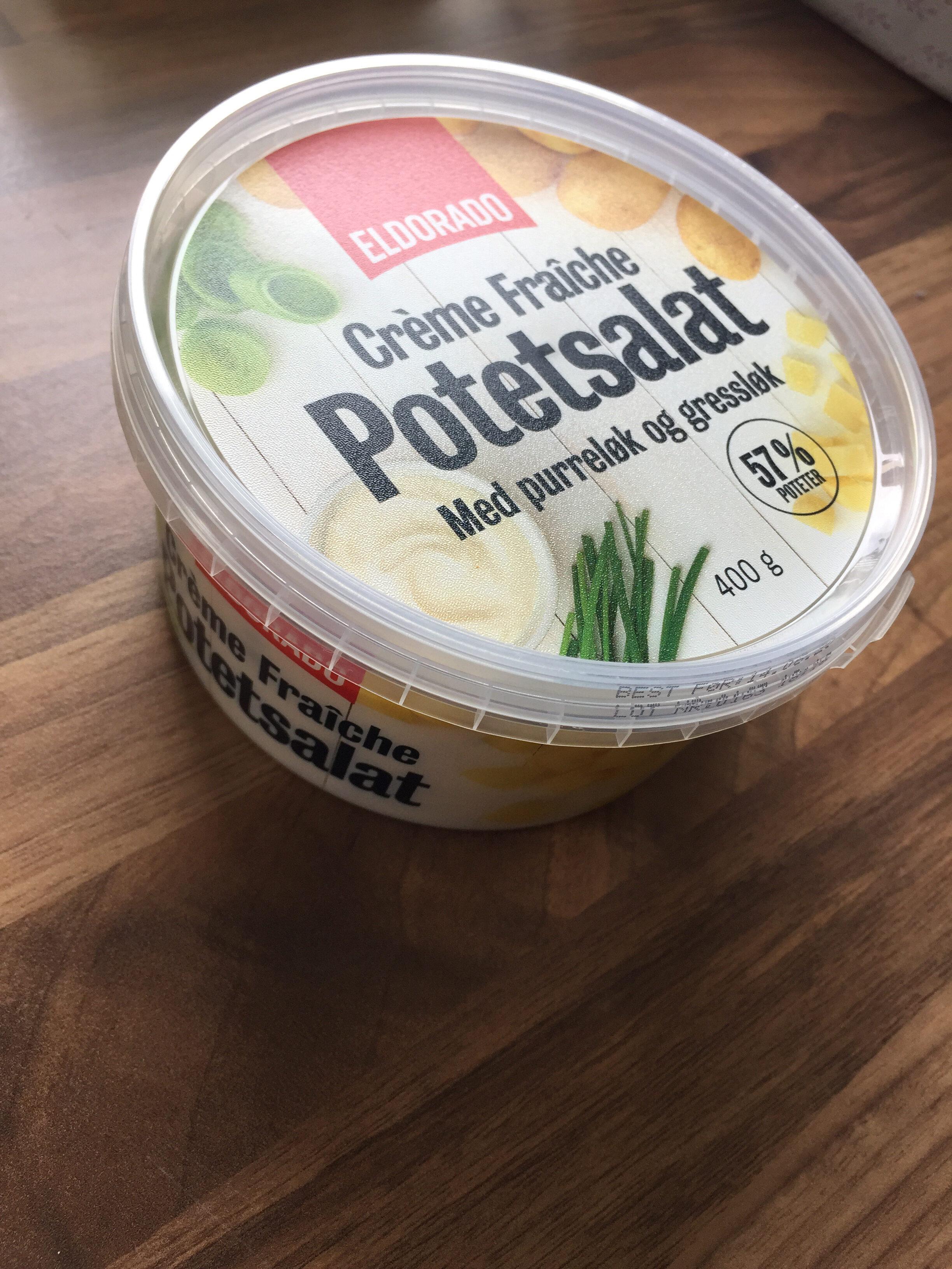 Crème Fraîche Potetsalat med purreløk og gressløk - Produit - nb