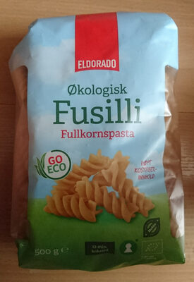 Eldorado Fusilli fullkornspasta - Produit - nb